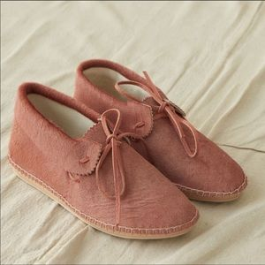 NWT The Great. Canyon Moccasin Dusty Rose